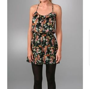 Parker Silk Floral Cami Mini Dress